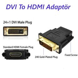 DVI 24+1  to HDMI Dönüştürücü Adaptör