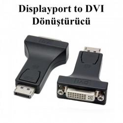 DP Display Port To Dvi Çevirici DISPLAY DVI Adaptör