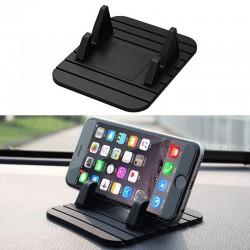 Araç Torpido ve Masa Üstü Kaydırmaz Silikon Telefon Tutacağı