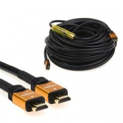 30 Metre Yüksek Kalite Sinyal Güçlendiricili 4K HDMI Kablo