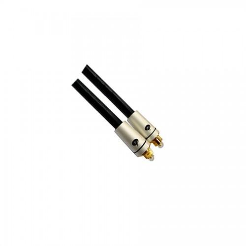 Metal Başlık Digital Fiber Optik OD5.0 Toslink Ses Kablosu - 5 Metre