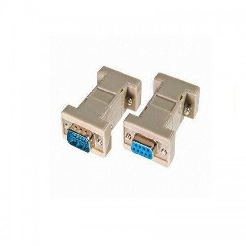 DB9 Male to DB9 Female Null Modem Adapter