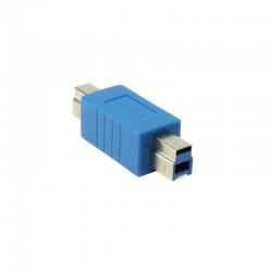 USB 3.0 B M / B M Dönüştürücü - Nickel/Blue