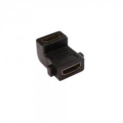 HDMI Dişi / HDMI Dişi 90 Derece Panel Adaptör