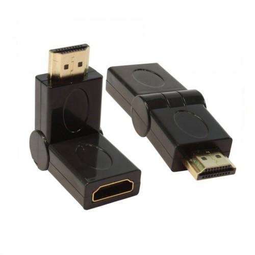 HDMI M  / HDMI F 180Derece Dönüştürücü
