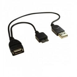USB 2.0 A Dişi / USB 2.0 A Erkek / Mikro B Erkek