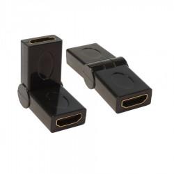 HDMI Dişi / HDMI Dişi 180Derece Dönüştürücü