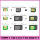 NOOSY Nano Sim Kart Adaptörü