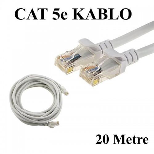 CAT 5e Patc Ethernet Kablo 24AWG Fabrikasyon - 20 Metre