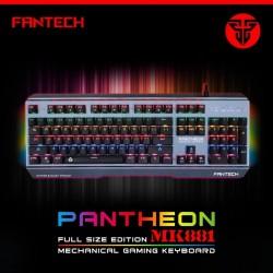Fantech Pantheon MK881 Metal Mekanik Su Geçirmez Oyuncu Klavyesi