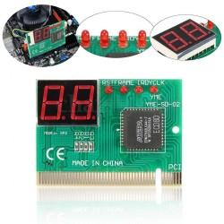 2 Haneli PC PCI Teşhis Kartı Anakart Analiz Test Cihazı