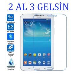 Samsung Galaxy Tab 3 T210 Temperli Cam  Ekran Koruyucu