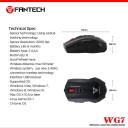 Fantech Garen WG7 Wıreless Gaming Mouse Kablosuz Oyuncu Mouse Kırmızı